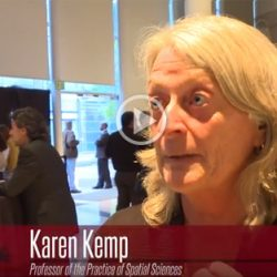 USC GIST Presents | Prof. Karen Kemp | The Power of Place