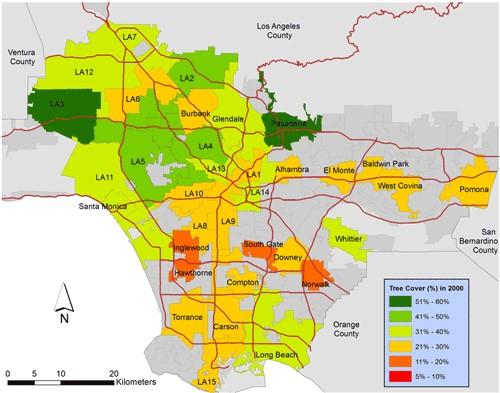 SSI documents LA's vanishing greenery