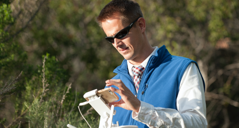 "Dr. Andrew Marx publishes in ""Remote Sensing Applications"""