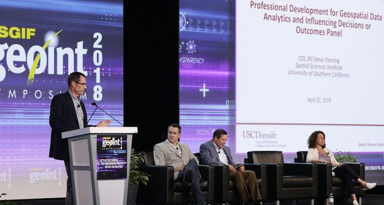Got GEOINT? USC Spatial contributes to USGIF's 2018 GEOINT Symposium