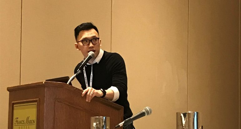 Li Yi presents at the 2019 Active Living Conference