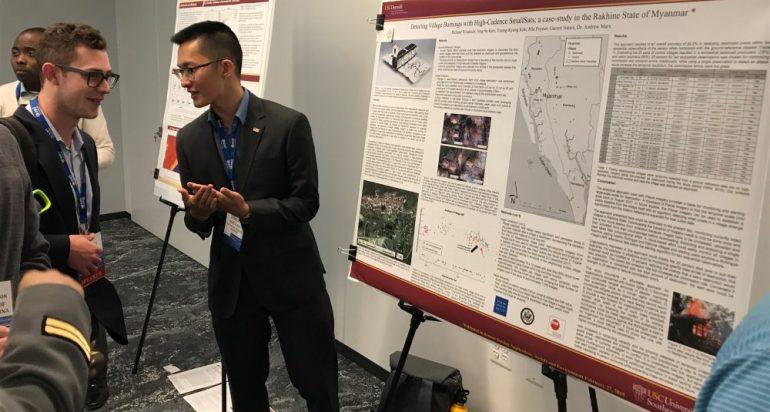 SSI Students Win U.S. Geospatial Intelligence Foundation Scholarships